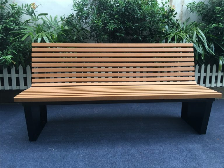 Commercial Recycled Plastic Park Bench SPB-055 Image 2