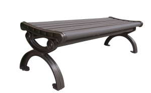 Commercial Recycled Plastic Park Bench SPB-201 Cover Image