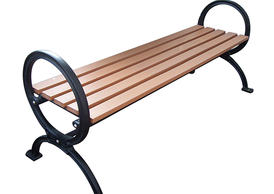 Commercial Recycled Plastic Park Bench SPB-203 Cover Image