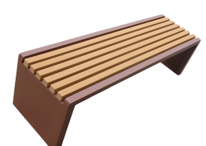 Commercial Recycled Plastic Park Bench SPB-204 Cover Image
