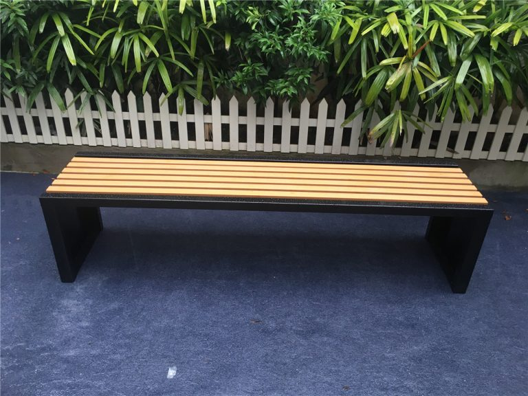 Commercial Recycled Plastic Park Bench SPB-204 Image 2