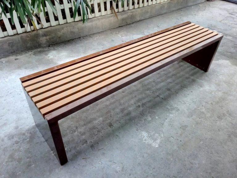Commercial Recycled Plastic Park Bench SPB-204 Image 4