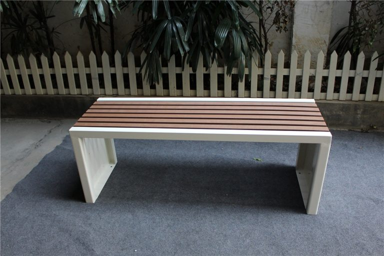 Commercial Recycled Plastic Park Bench SPB-204 Image 5