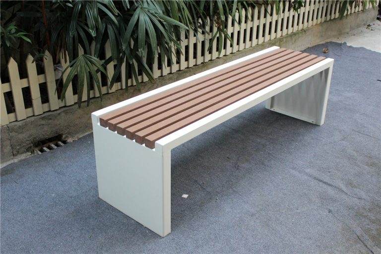 Commercial Recycled Plastic Park Bench SPB-204 Image 6