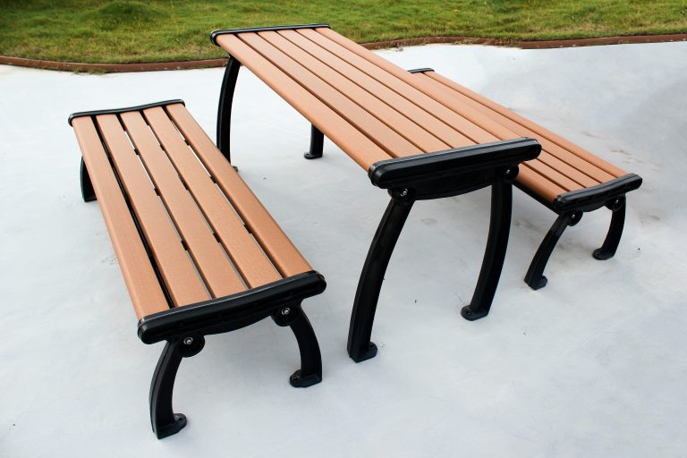 Commercial Recycled Plastic Picnic Table SPP-303 Image 1