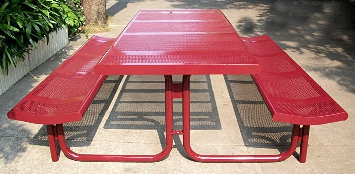 Commercial Steel Picnic Table SPP-308 Image 1