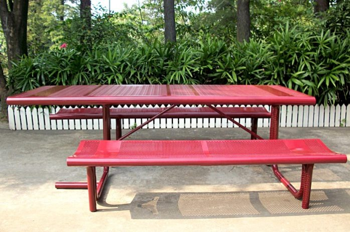 Commercial Steel Picnic Table SPP-308 Image 2