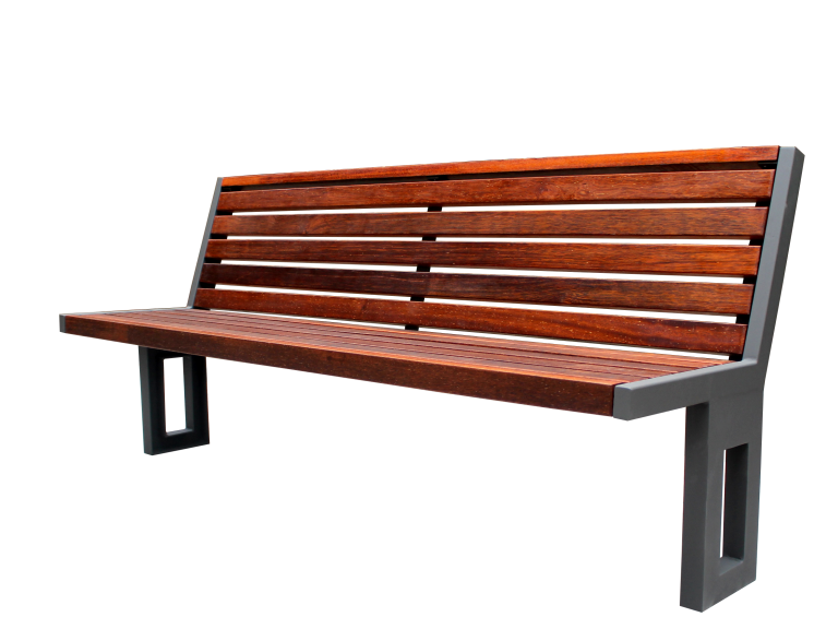 Recycled Plastic Park Bench SPB-051 Cover Image