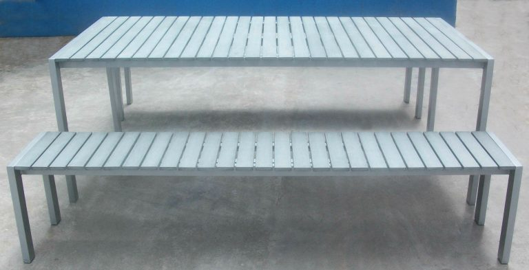 Commercial Recycled Plastic Outdoor Picnic Table SPP-305 Image 3