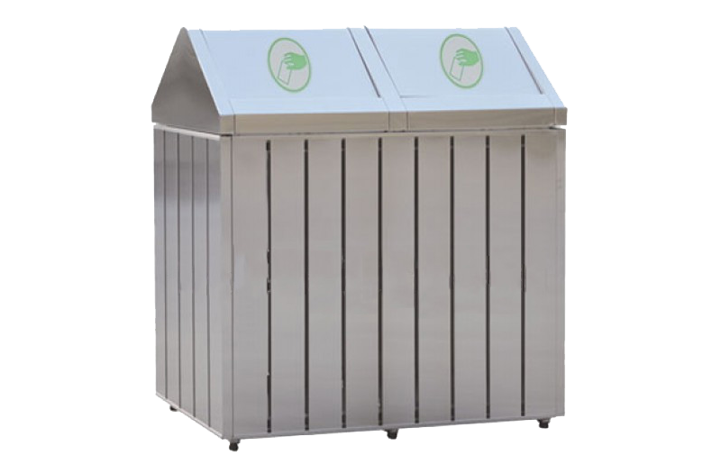 commercial recycling bin