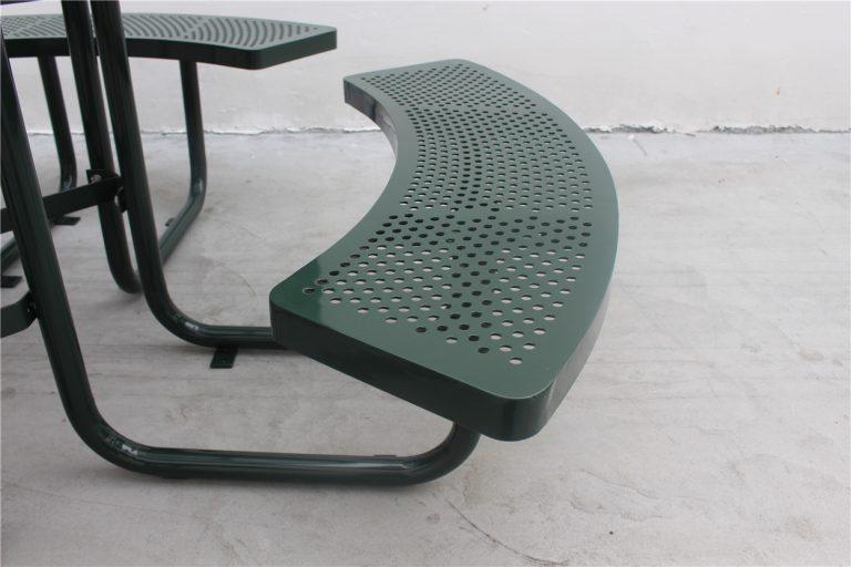 Commercial Picnic Table SPP-203 Dark Green Sunperk Site Furnishings