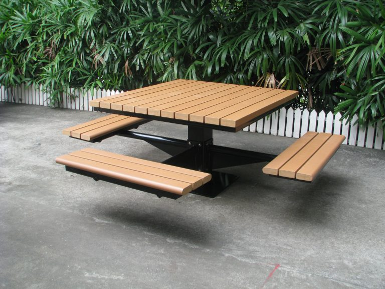 Commercial Outdoor Picnic Table SPP-104 (6) ADA (Americans with Disabilities Act)