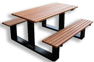 Commercial Recycled Plastic Picnic Table SPP-105 Cover Image