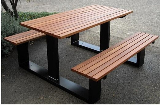 Commercial Recycled Plastic Picnic Table SPP-105 Image 1
