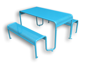 Commercial Recycled Plastic Picnic Table SPP-206 Cover Image