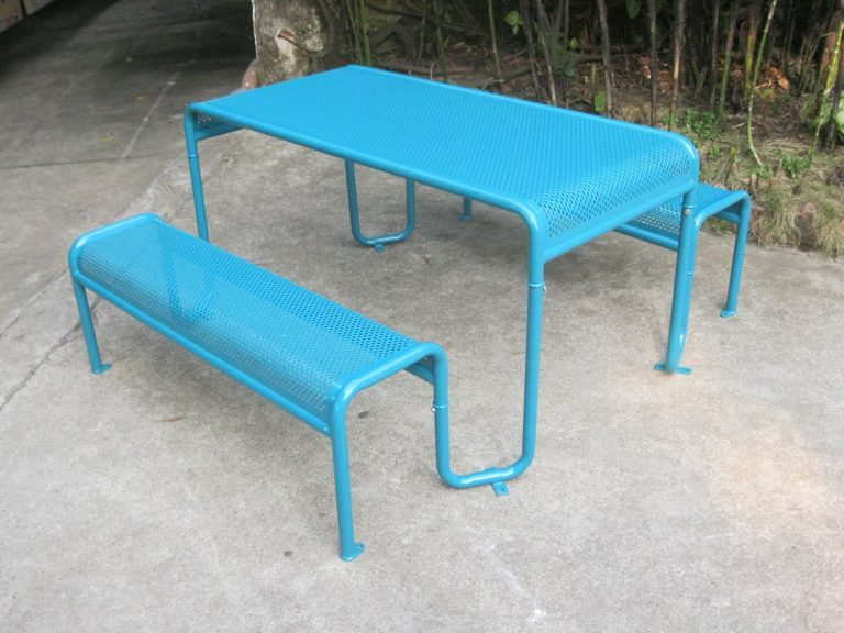 Commercial Recycled Plastic Picnic Table SPP-206 Image 1