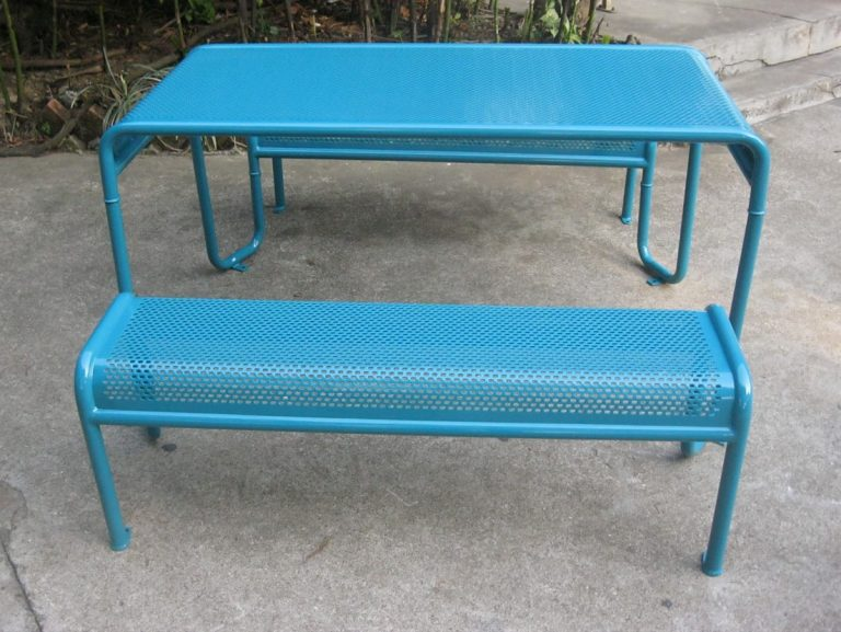 Commercial Recycled Plastic Picnic Table SPP-206 Image 2