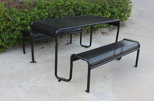 Commercial Recycled Plastic Picnic Table SPP-206 Image 3