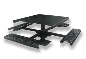 Commercial Steel Picnic Table SPP-104B Cover Image