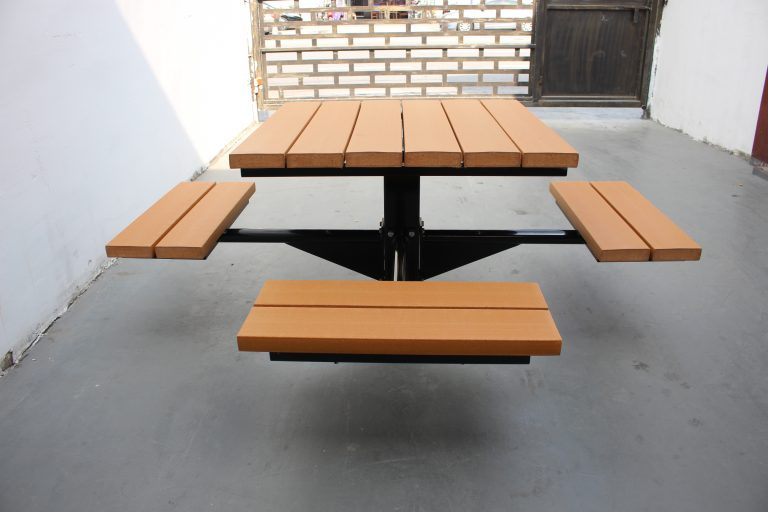 Commercial Outdoor Recycled Plastic Picnic Table SPP-104 image 5