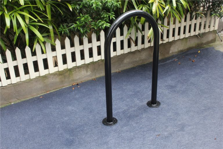 Commercial Outdoor Bicycle Rack SPR-103 Image 2 color RAL9005
