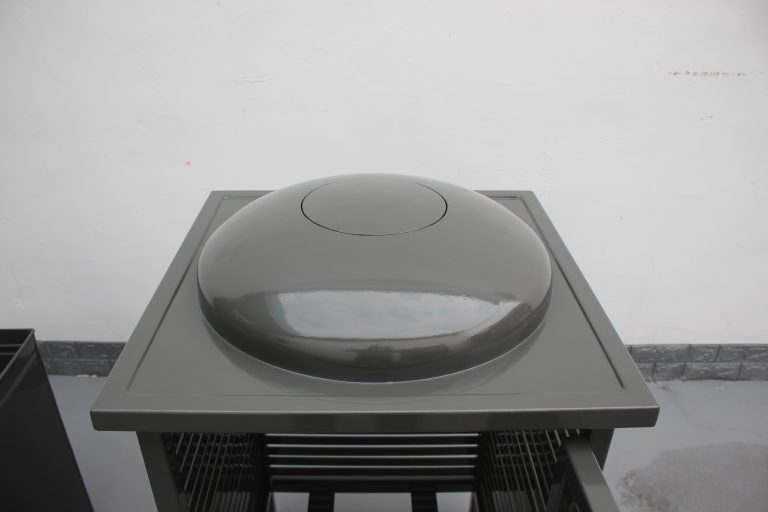 Commercial Outdoor Trash Receptacle SPT-C13 Color RAL 7022 Glossy Grey(12)