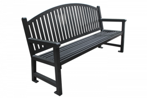 Commercial Outdoor Metal Park Bench SPB-672 Cover Image