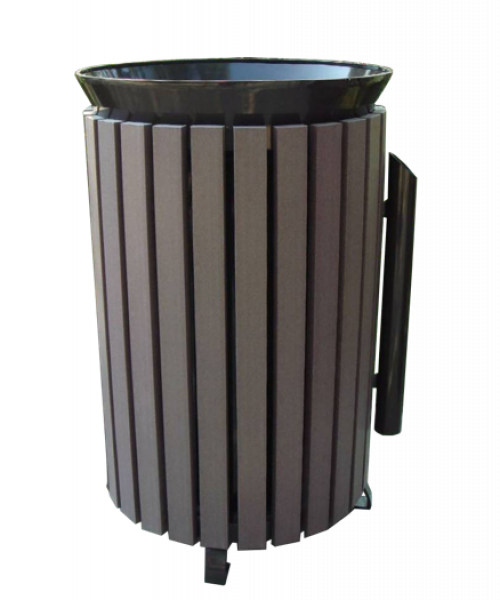 Commercial Outdoor Trash Receptacle SPT-202 Cover Image