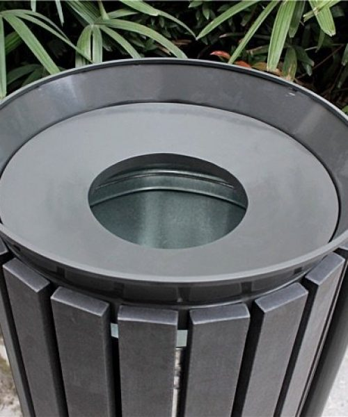 Commercial Outdoor Trash Receptacle SPT-202 Image 3