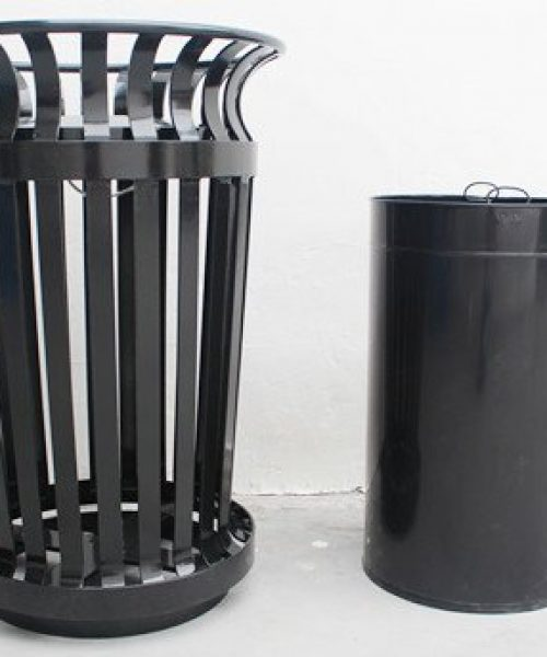 Commercial Outdoor Trash Receptacle SPT-C21 Image 3