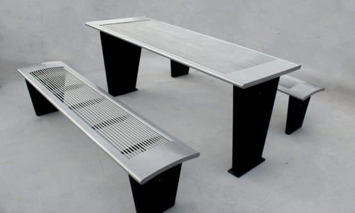 Commercial Steel Picnic Table SPP-302 Image 1