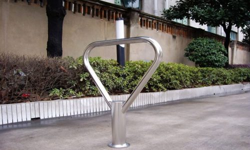 Commercial Outdoor Bicycle Rack / SPR-107S