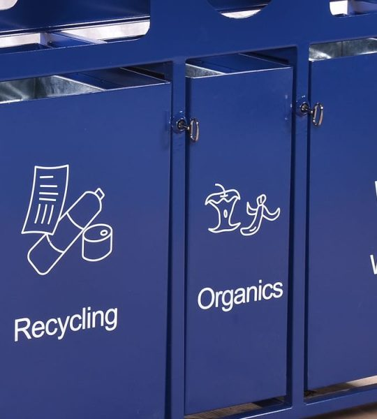 commercial recycling bins malibu